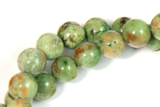 Green Opal, 6mm, Round Shape Beads