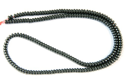 Hematite, 3mm, Rondelle Shape Beads