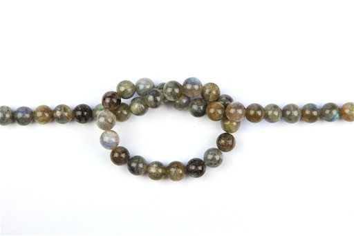 Labradorite, 10mm, Round Shape Beads