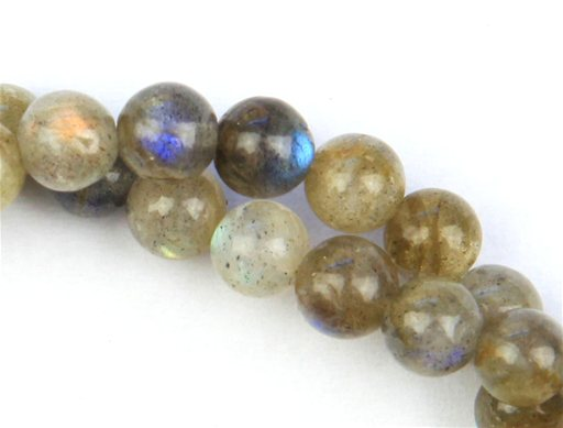 Labradorite, 6mm, Round Shape Beads