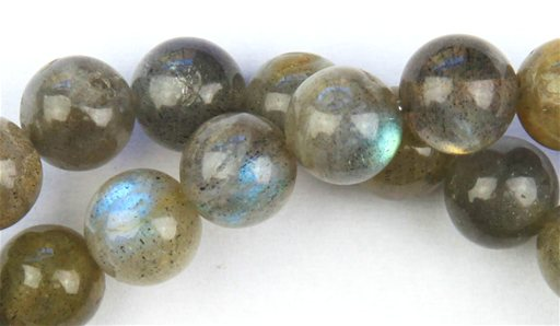 Labradorite, 8mm, Round Shape Beads