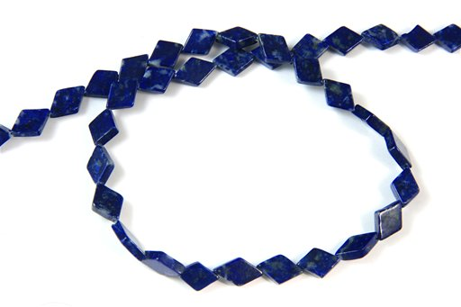 Lapis lazuli, 8x12mm, Diamond Shape Beads