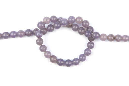 Lepidolite, 8mm, Round Shape Beads