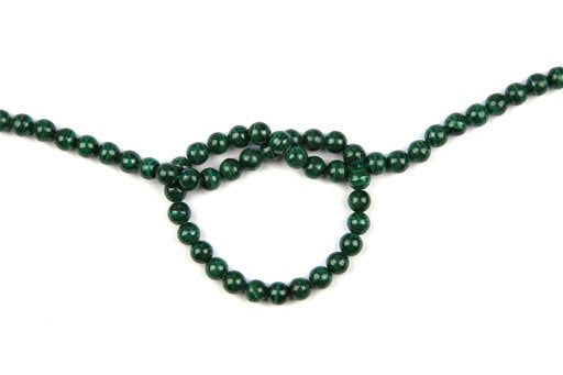 Malachite, 6mm, Round Shape Beads