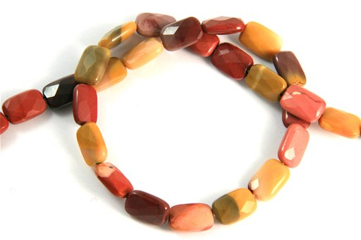 Mookite, 8x12mm, Faceted Retangle Shape Beads