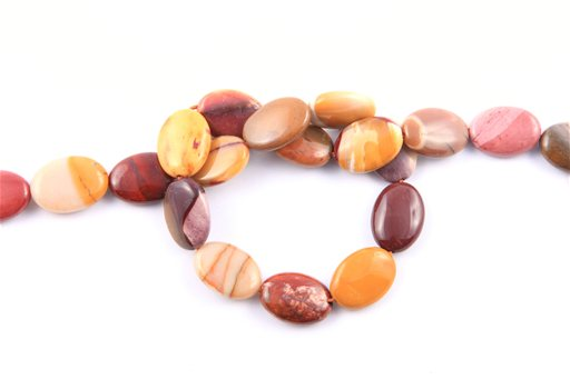 Mookite, 13x18mm, Oval Shape Beads