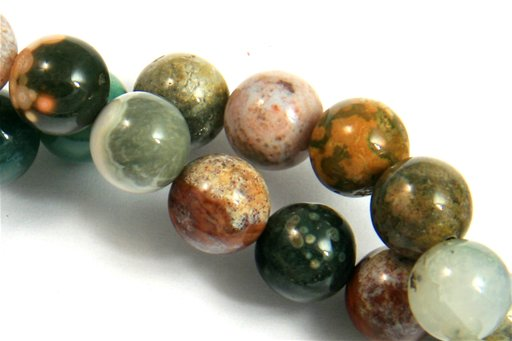 Ocean Jasper, 8mm, Round Shape Beads