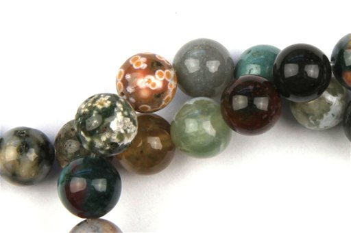 Ocean Jasper, 10mm, Round Shape Beads