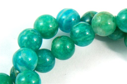 Russian Amazonite, 6mm, Round Shape Beads