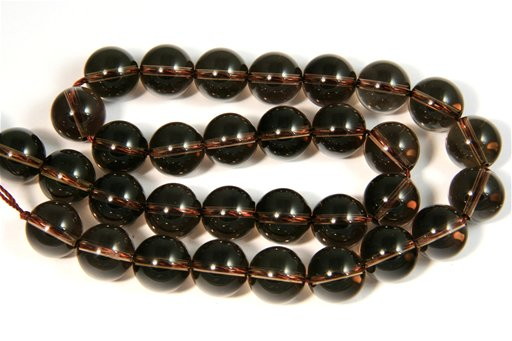 Smokey Quartz, 12mm, Round Shape Beads