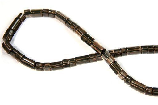 Smokey Quartz, 6mm, Trillion Shape Beads