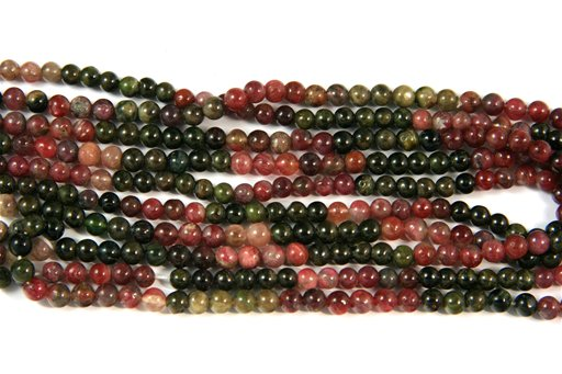 Tourmaline, 5mm, Round Shape Beads