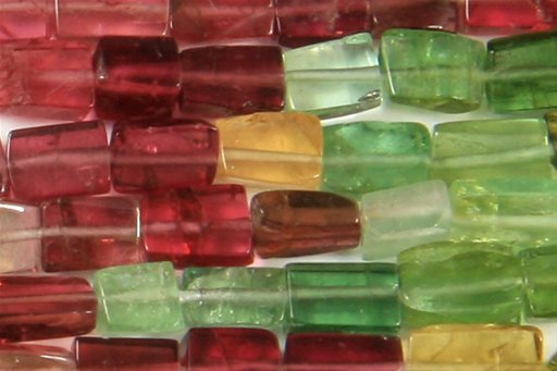 Tourmaline (AA), Irregular 3x5mm, Rectangle Shape Beads