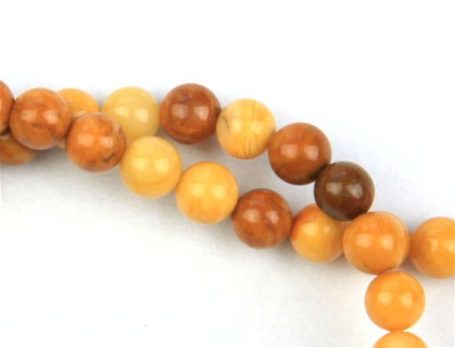 Yellow Jasper, 4mm, Round Shape Beads