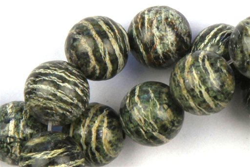 Zebra Jasper, 10mm, Round Shape Beads