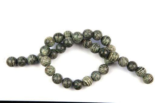 Zebra Jasper, 12mm, Round Shape Beads