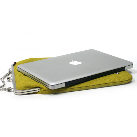 Lemon Green 13'' Laptop case