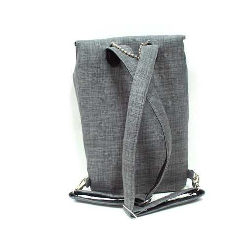 Grey Backpack for laptop