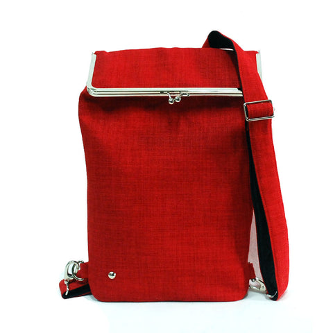 Red Backpack for laptop