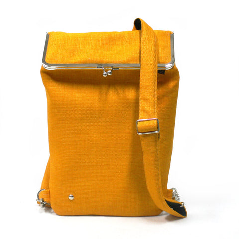 Yellow Backpack for laptop