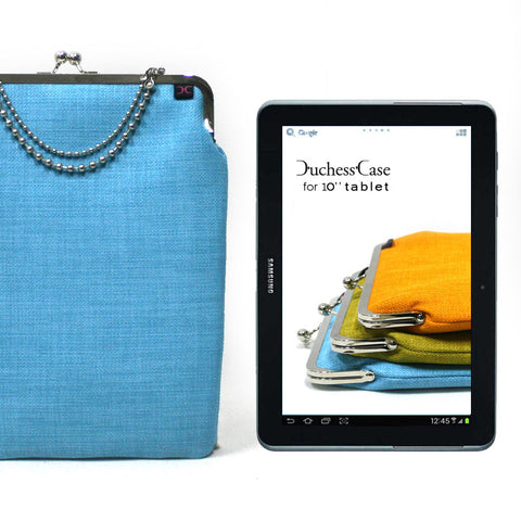 Light Blue Galaxy Tab 10.1'' case
