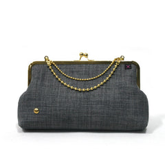 Grey Evening Clutch