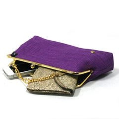 Purple Evening Clutch