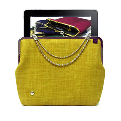 Lemon Green iPad case