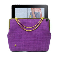 Purple iPad case