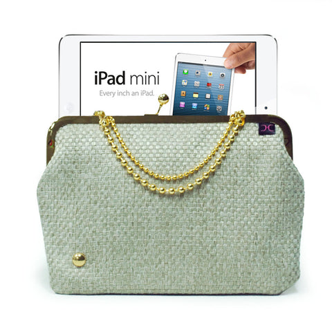 Beige iPad mini case