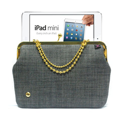 Grey iPad mini case