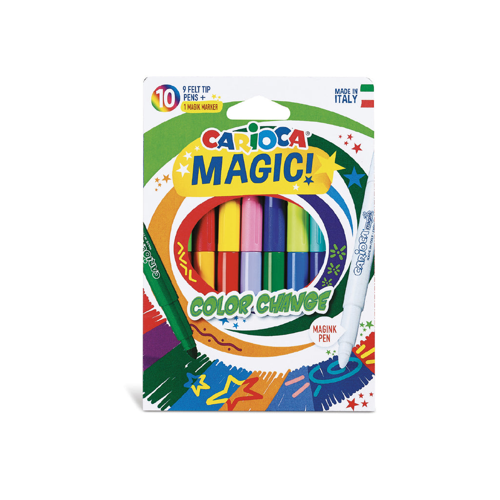 Pennarelli Magici Cambiacolore COLOR CHANGE - 10 pz