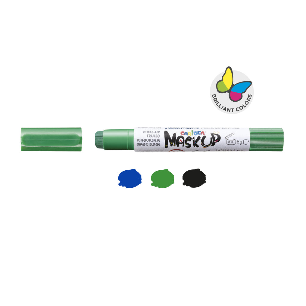 Colori per la pelle in Stick MASK UP MONSTER - 3 pz