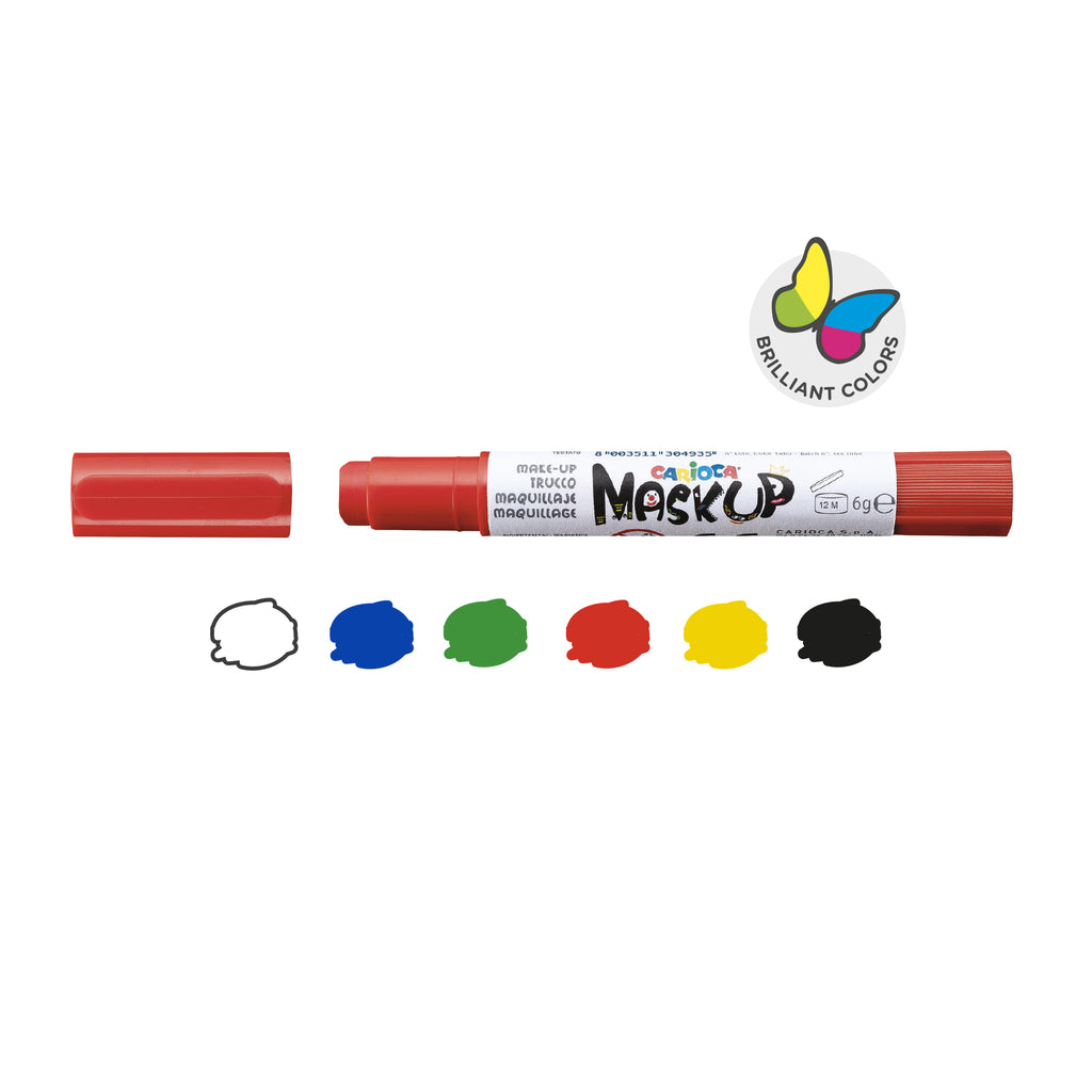 Colori per la pelle in Stick MASK UP PARTY - 6 pz
