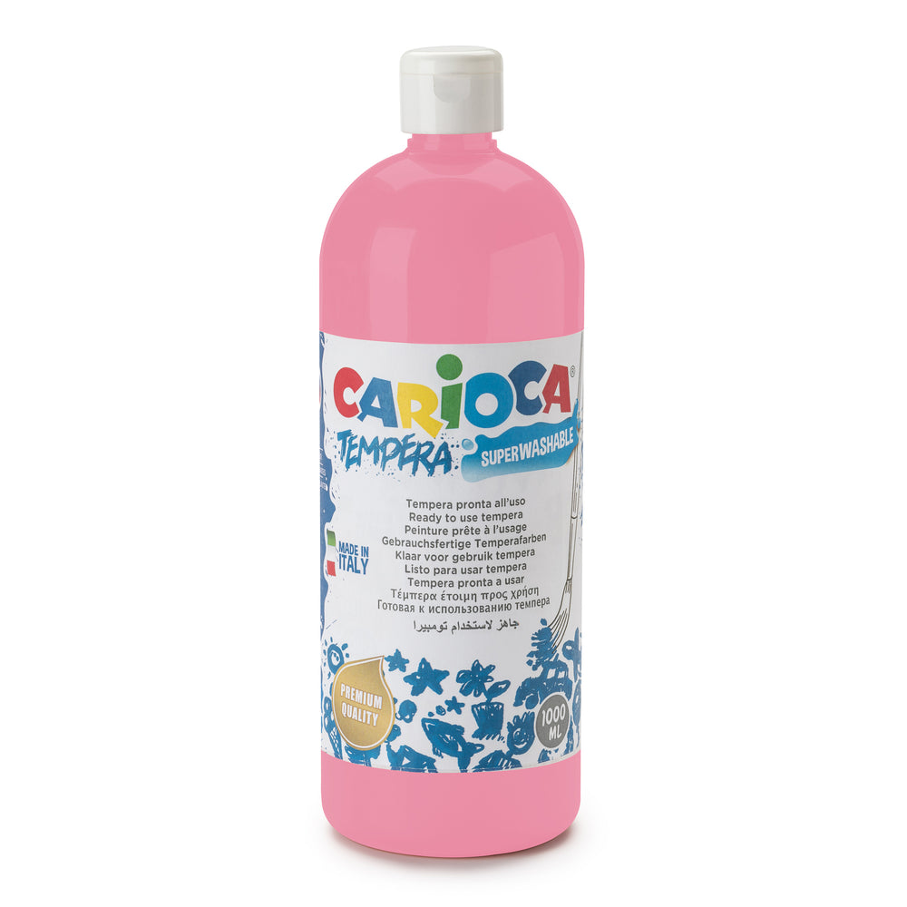 Tempera Pronta in bottiglia 1000 ml Rosa - 1 pz