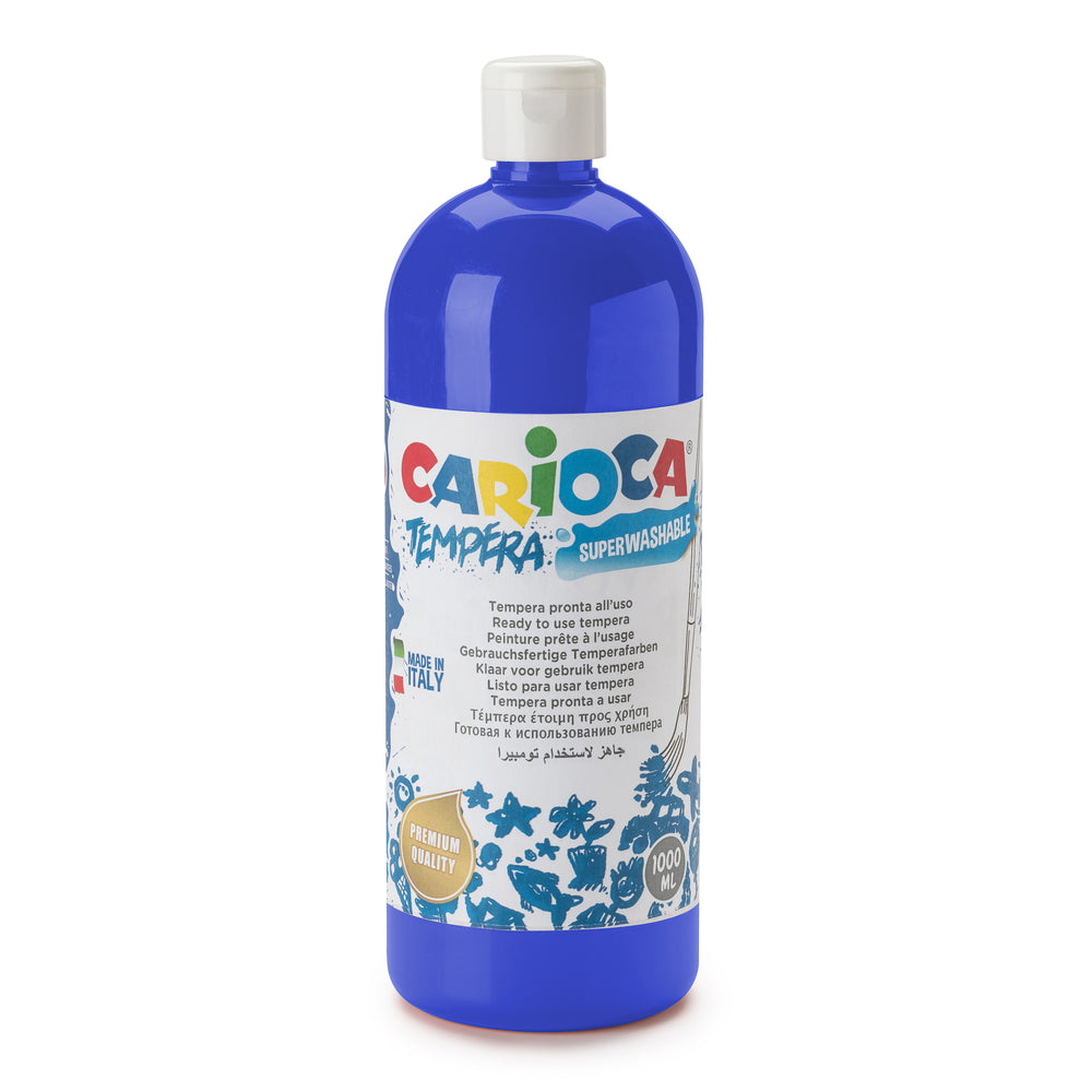Tempera Pronta in bottiglia 1000 ml Blu Scuro - 1 pz