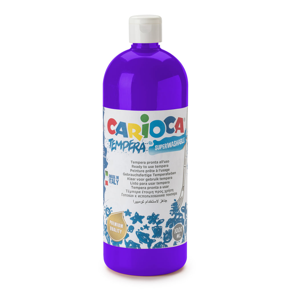 Tempera Pronta in bottiglia 1000 ml Viola - 1 pz