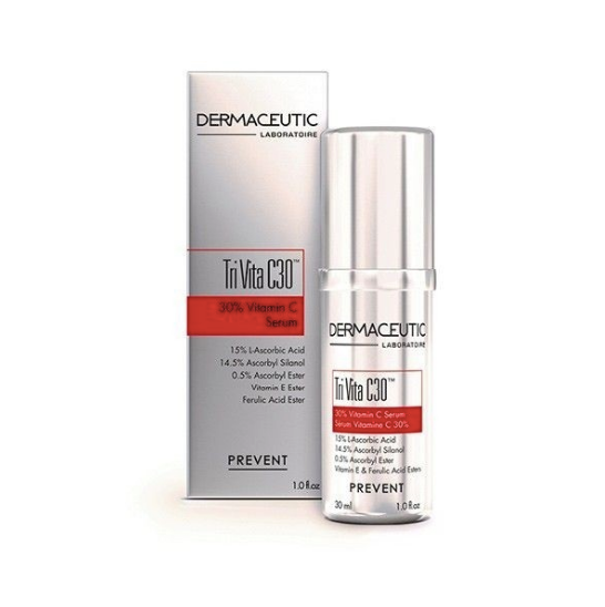 Dermaceutic Tri Vita C30 Serum - 30mL