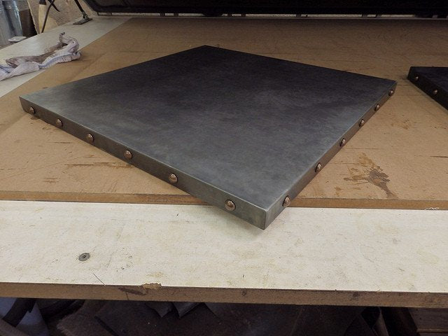 ... Zinc Table Top Metal Sheets Contract Furniture Store ...