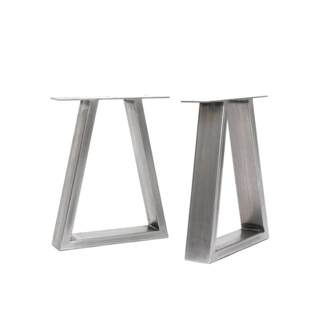 Trapezium Industrial Leg Bench Ends-Hairpin-Contract Furniture Store