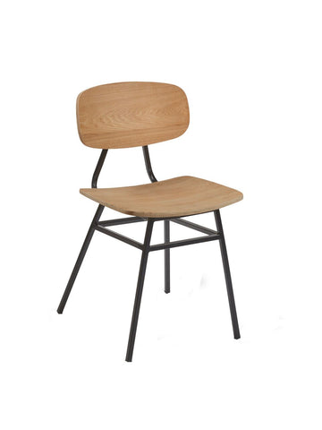 Florence Side Chair c/w Metal Legs-Global Leisure-Contract Furniture Store
