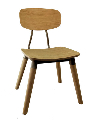 Florence Side Chair c/w Wood Legs-Global Leisure-Contract Furniture Store