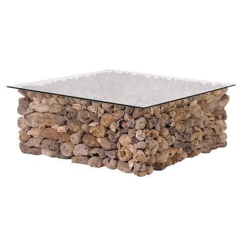 Driftwood Square Coffee Table-Coach House-Contract Furniture Store