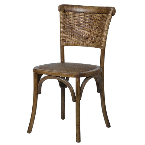 Rattan Side Chair-Coach House-Contract Furniture Store