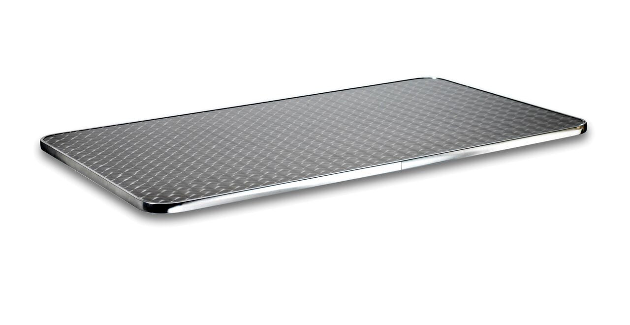 ... Polished Stainless Steel Table Top Global Leisure Contract Furniture  Store ...