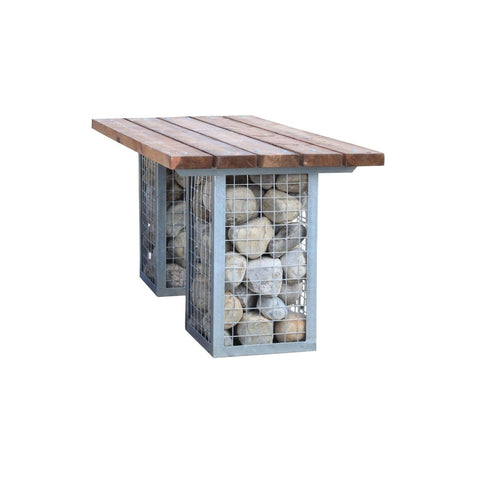 Gabion Dining Table-Woodberry-Contract Furniture Store