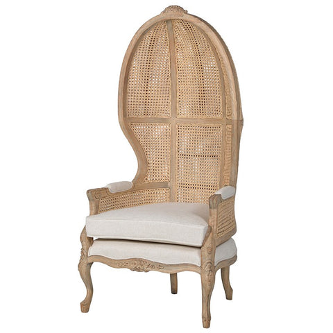 Rattan Porters Lounge Chair-Coach House-Contract Furniture Store