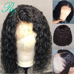 Short Curly Wet& Wavy Lace Front