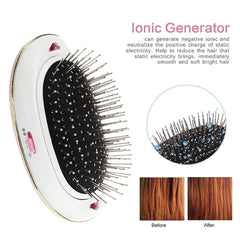 Electric Ionic Mini Hair Brush