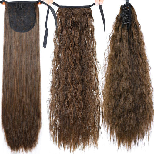 Drawstring Ponytail Synthetic Hair Extensions